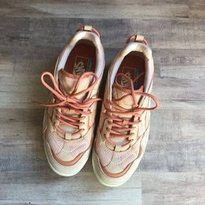 VANS Pink and Cream Sneakers Size 7.5 - SAMPLE
